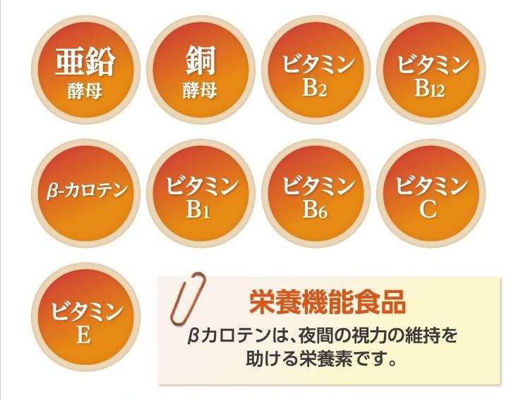 9種類の栄養素