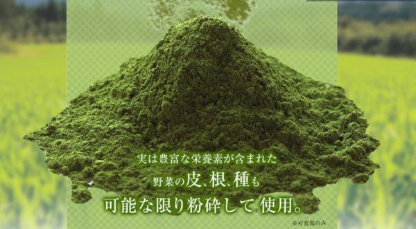 飲みごたえ野菜青汁 写真06 公式サイトより