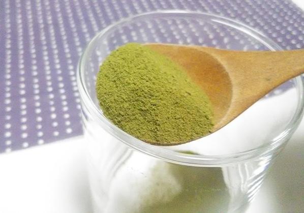 ユーグレナの緑汁 中身の写真