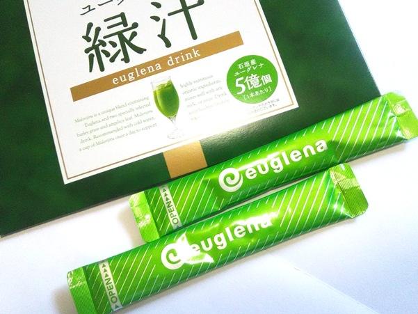 ユーグレナの緑汁 商品の写真