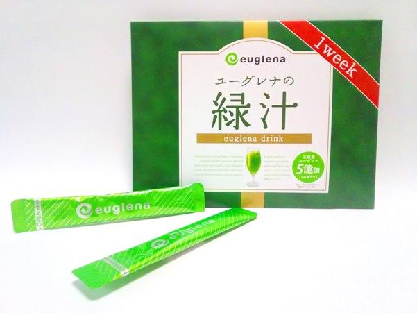 ユーグレナの緑汁